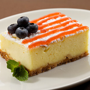 """New York"" cheese cake"